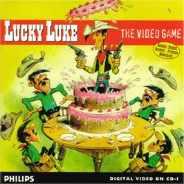 Box cover for Lucky Luke: The Video Game on the Philips CD-i.
