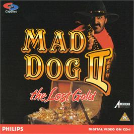 Box cover for Mad Dog II: The Lost Gold on the Philips CD-i.