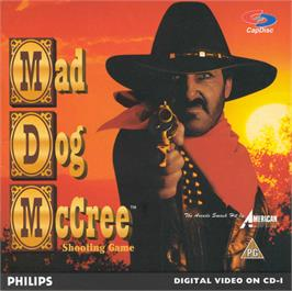Box cover for Mad Dog McCree on the Philips CD-i.