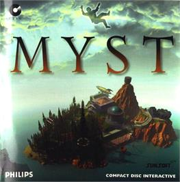 Box cover for Myst on the Philips CD-i.