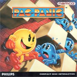 Box cover for Pac-Attack on the Philips CD-i.