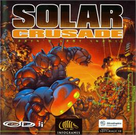 Box cover for Solar Crusade on the Philips CD-i.