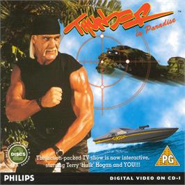 Box cover for Thunder in Paradise Interactive on the Philips CD-i.