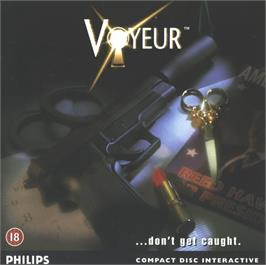 Box cover for Voyeur on the Philips CD-i.