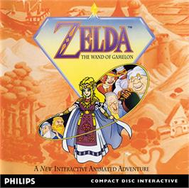 Box cover for Zelda: The Wand of Gamelon on the Philips CD-i.
