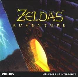 Box cover for Zelda's Adventure on the Philips CD-i.