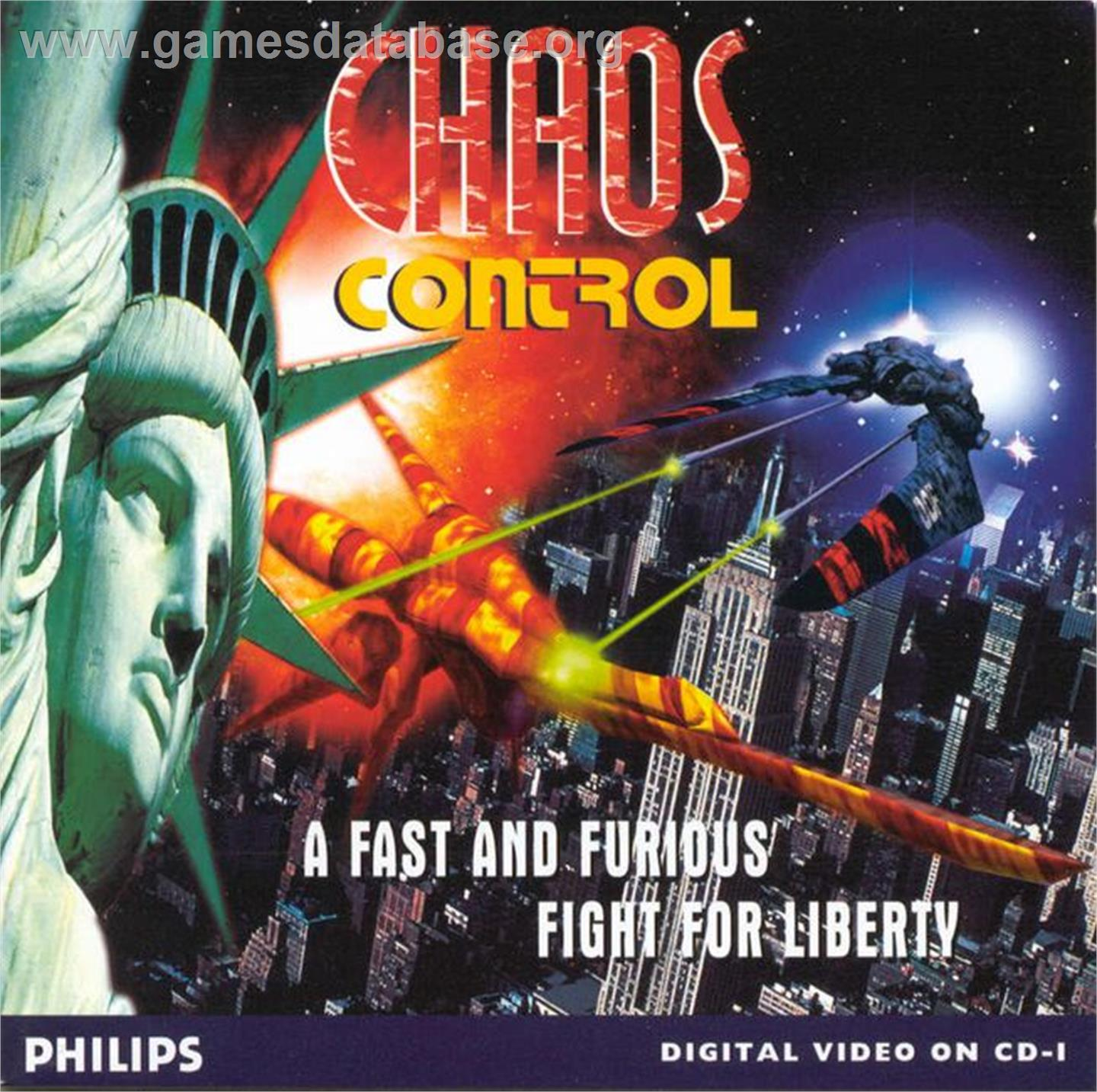 Chaos Control - Philips CD-i - Artwork - Box