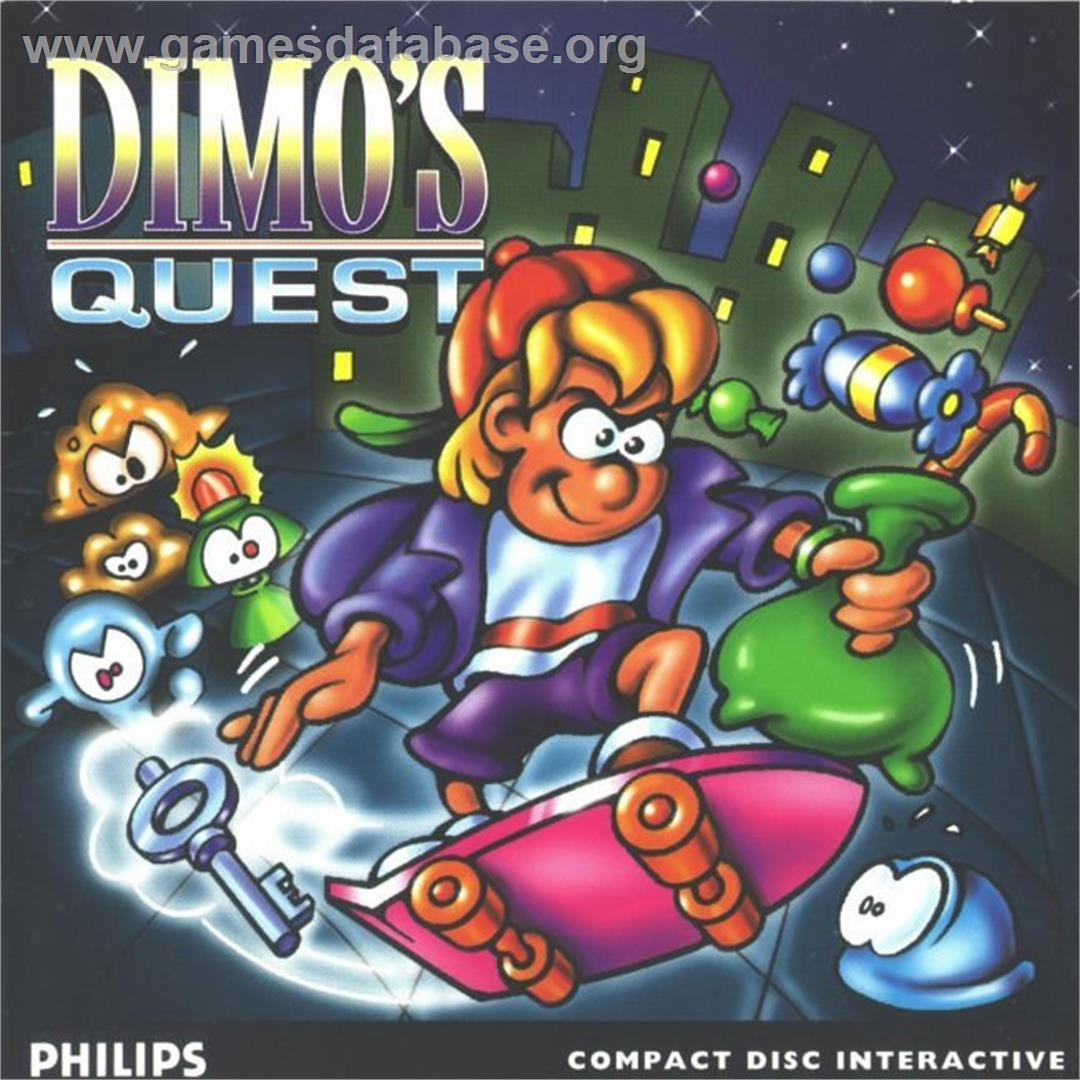 Dimo's Quest - Philips CD-i - Artwork - Box