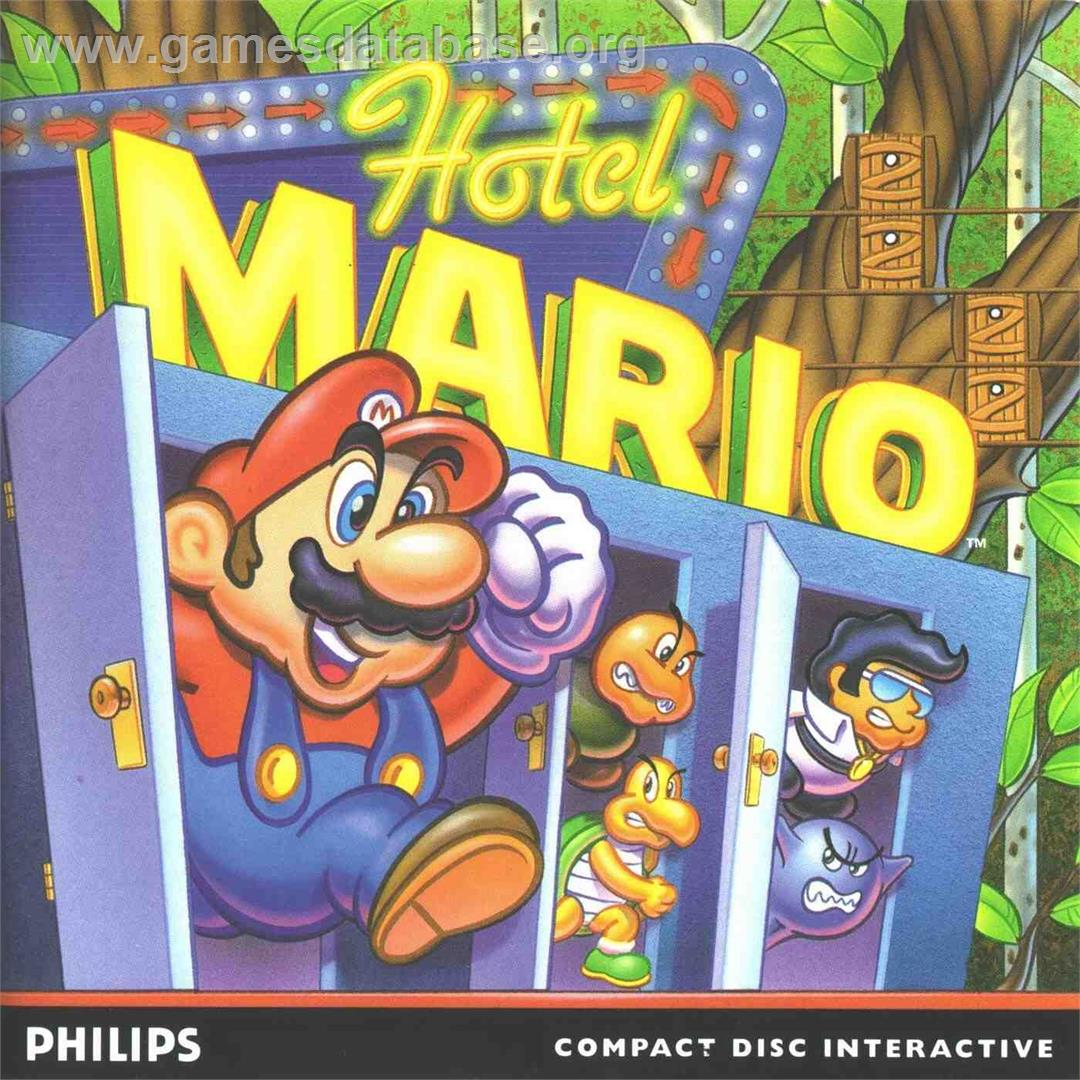 Hotel Mario - Philips CD-i - Artwork - Box