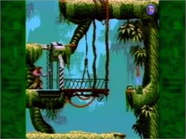 In game image of Flashback on the Philips CD-i.