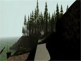 In game image of Myst on the Philips CD-i.