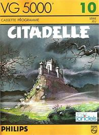 Box cover for Citadelle on the Philips VG 5000.