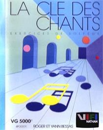 Box cover for Cle Des Chants, La on the Philips VG 5000.