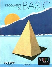 Box cover for Decouverte Du Basic - Volume 1 on the Philips VG 5000.