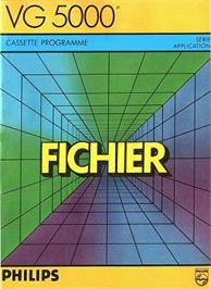 Box cover for Fichier on the Philips VG 5000.