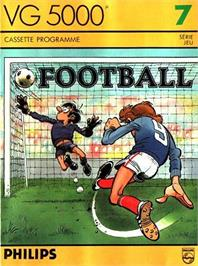 Box cover for Football on the Philips VG 5000.