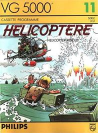 Box cover for Helicoptere on the Philips VG 5000.