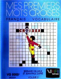 Box cover for Mes Premiers Mots Croises - Volume 2 on the Philips VG 5000.