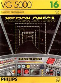 Box cover for Mission Omega on the Philips VG 5000.