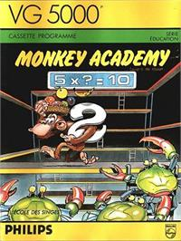 Box cover for Monkey Academy on the Philips VG 5000.
