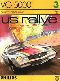 Box cover for Us Rallye on the Philips VG 5000.