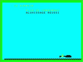 In game image of Alunissage on the Philips VG 5000.