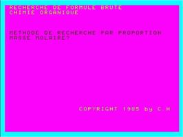 In game image of Formule Brute on the Philips VG 5000.