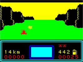 In game image of Helicoptere on the Philips VG 5000.