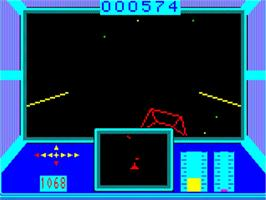 In game image of Mission Omega on the Philips VG 5000.