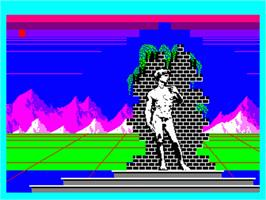 In game image of Salut L'Artiste on the Philips VG 5000.