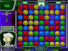 In game image of Atomica Deluxe on the PopCap.