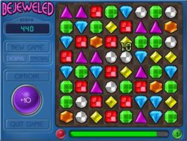 In game image of Bejeweled Deluxe on the PopCap.
