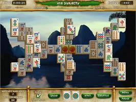 In game image of Mahjong Escape Ancient China on the PopCap.