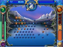 In game image of Peggle Deluxe on the PopCap.