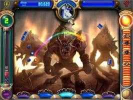 In game image of Peggle World of Warcraft Edition on the PopCap.