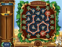 In game image of Talismania Deluxe on the PopCap.