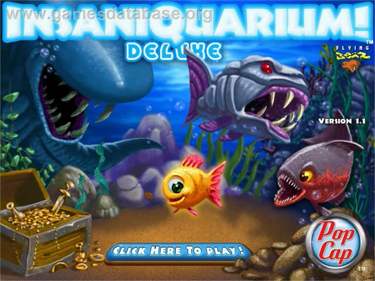 Fish tank popcap games insaniquarium 2017 fish tank for Pet fish games