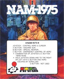 Box cover for NAM-1975 on the SNK Neo-Geo AES.