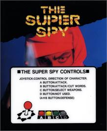 Box cover for The Super Spy on the SNK Neo-Geo AES.