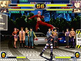 In game image of Rage of the Dragons on the SNK Neo-Geo AES.