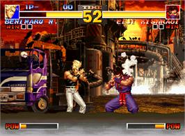 In game image of The King of Fighters '95 on the SNK Neo-Geo AES.