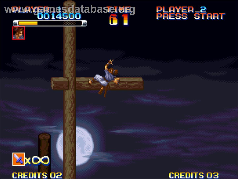 Ganryu - SNK Neo-Geo AES - Artwork - In Game