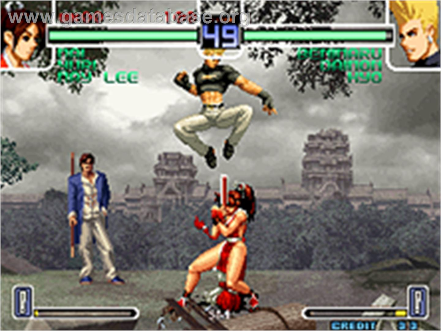 of Fighters 2002: Challenge to Ultimate Battle on the SNK Neo-Geo AES