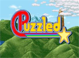 Title screen of Puzzled on the SNK Neo-Geo AES.