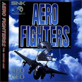 Box cover for Aero Fighters 2 on the SNK Neo-Geo CD.