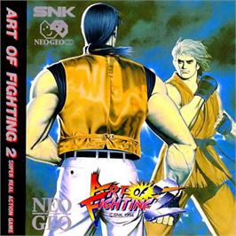 Box cover for Art of Fighting 2 on the SNK Neo-Geo CD.