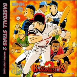 Box cover for Baseball Stars 2 on the SNK Neo-Geo CD.