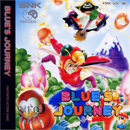 Box cover for Blue's Journey on the SNK Neo-Geo CD.