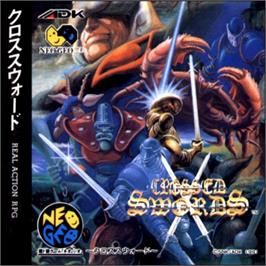 Box cover for Crossed Swords on the SNK Neo-Geo CD.