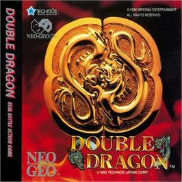 Box cover for Double Dragon on the SNK Neo-Geo CD.